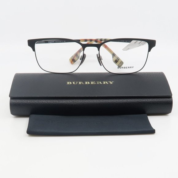 B 1332 1283 Burberry Matte Black Eyeglasses